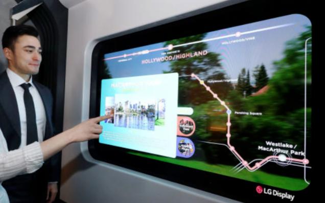 LG最新概念产品显示了其透明OLED在大流行病后的应用