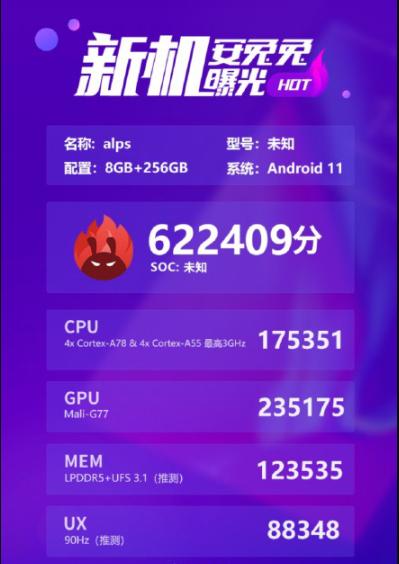 联发科天玑12005G芯片正式上线