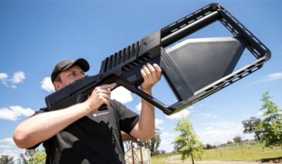 反无人机电磁枪开始生产出货