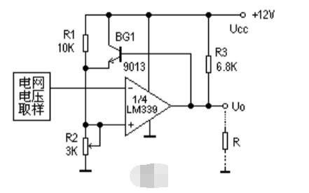 LM339四路差动比较器的应用电路图集