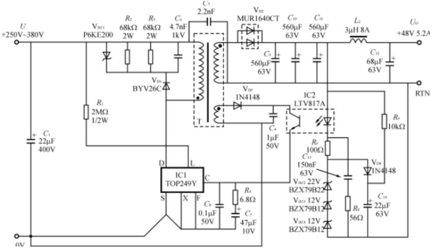 固定增益放大器器THS4300的性能特点及应用