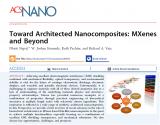 基于MXene的薄膜纳米复合材料中的作用方面的最...
