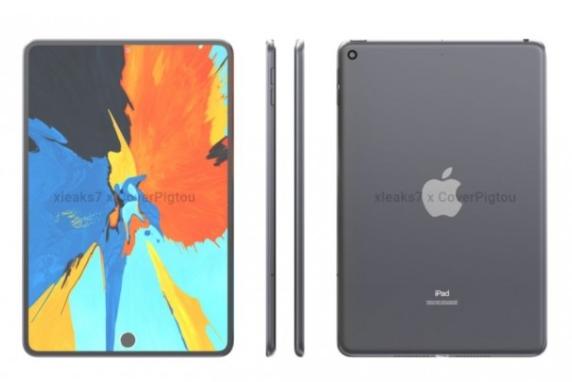 苹果iPad mini 6渲染图曝光