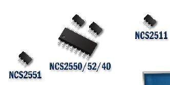 高速运算放大器产品NCS25xx系列的性能及应用范围