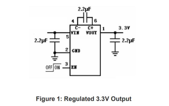 HM3200B低噪聲穩壓電荷泵DCDC變換器的數據手冊免費下載