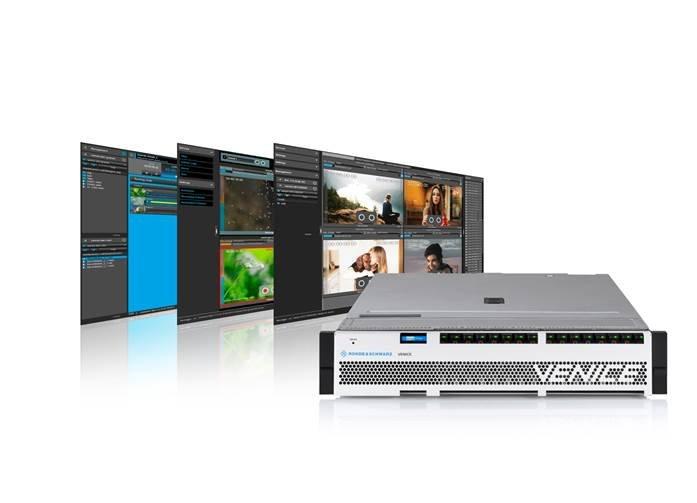 罗德与施瓦茨R&S VENICE视频服务器满足IP演播室的更好应用