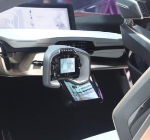 威马和百度联合研发首台量产车型正式下线