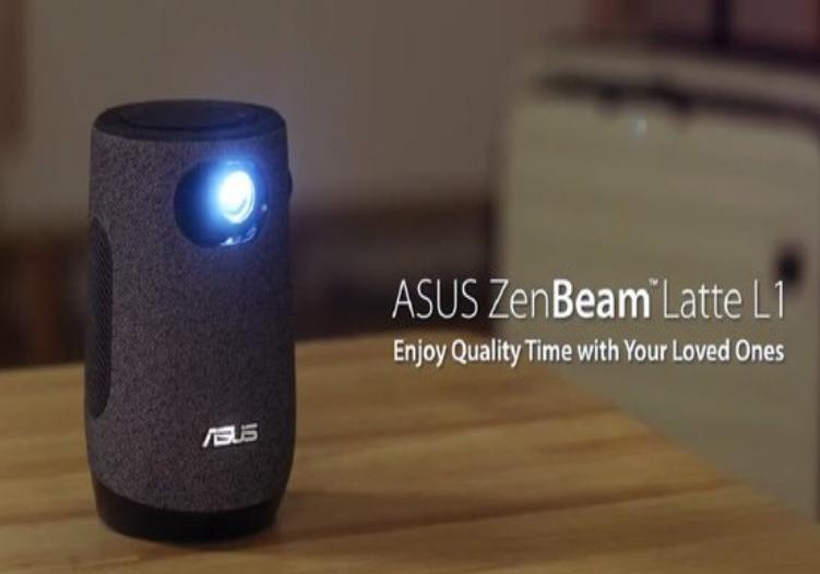 华硕推新款便携投影仪ZenBeam Latte L1