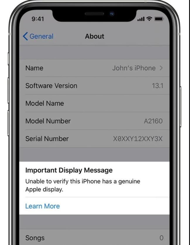 苹果iOS设备今日起可识别非原装摄像头零件