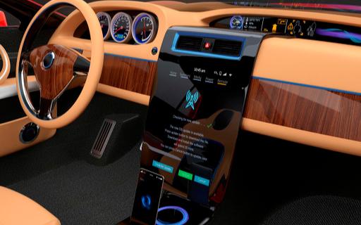 奔驰推出了一款全新的数字界面屏 将率先应用在纯电动产品上