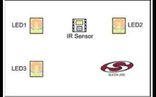红外线接近和运动感应系统如何在单一LED下运行