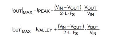 浅谈DC/DC转换器数据表中的电流限制规格