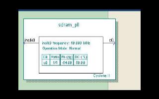 如何使用Verilog设计Altera的DE2板上SDRAM存储器