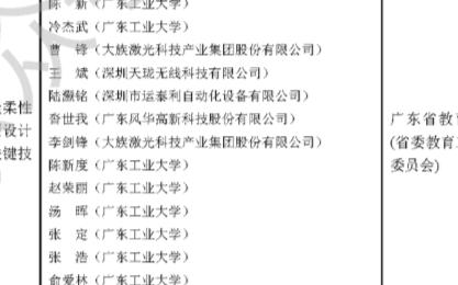 广东省科学技术奖公示,多个照明与显示项目被提名