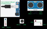 Arduino的碰撞检测警告系统的工作方式