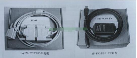 PLC与电脑的连接方法以及程序的上传、下载方法