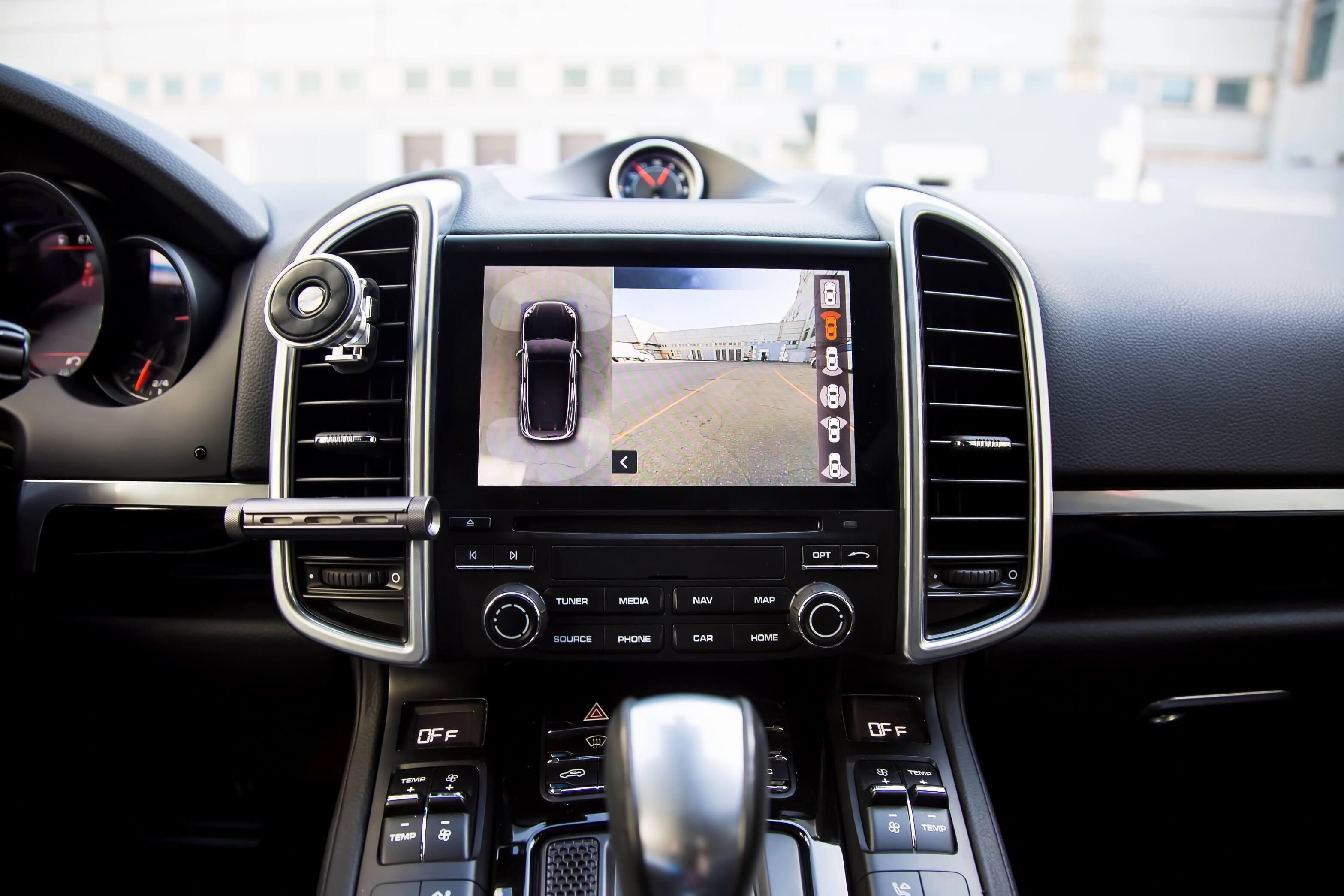 让汽车的全景环视更智能更安全!