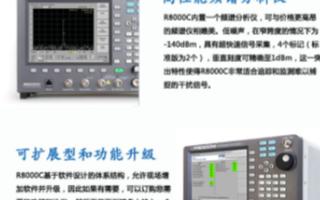 R8000C台式无线电综测仪的性能特点及应用