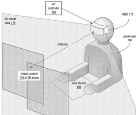 苹果正研究通过AR防止乘客晕车