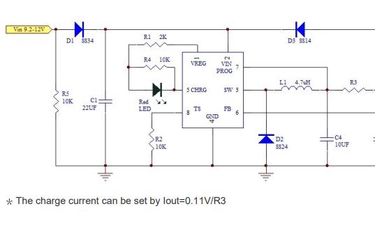 XA4203独立锂离子开关式电池充电器芯片的数据手册免费下载