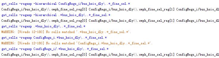 正则表达式在Vivado约束文件(xdc)中的应用(转)