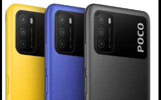 POCO公司将正式推出POCO M3智能手机