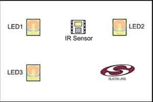 紅外線接近和運動感應系統如何在單一LED下運行