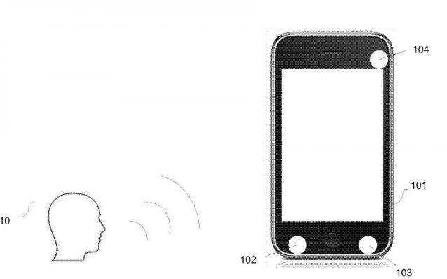 专利显示苹果正在研究如何利用音频来估计设备与说话用户的距离