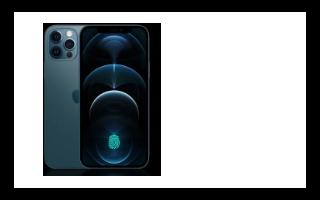 苹果可能会在iPhone 13上恢复基于指纹的生物识别