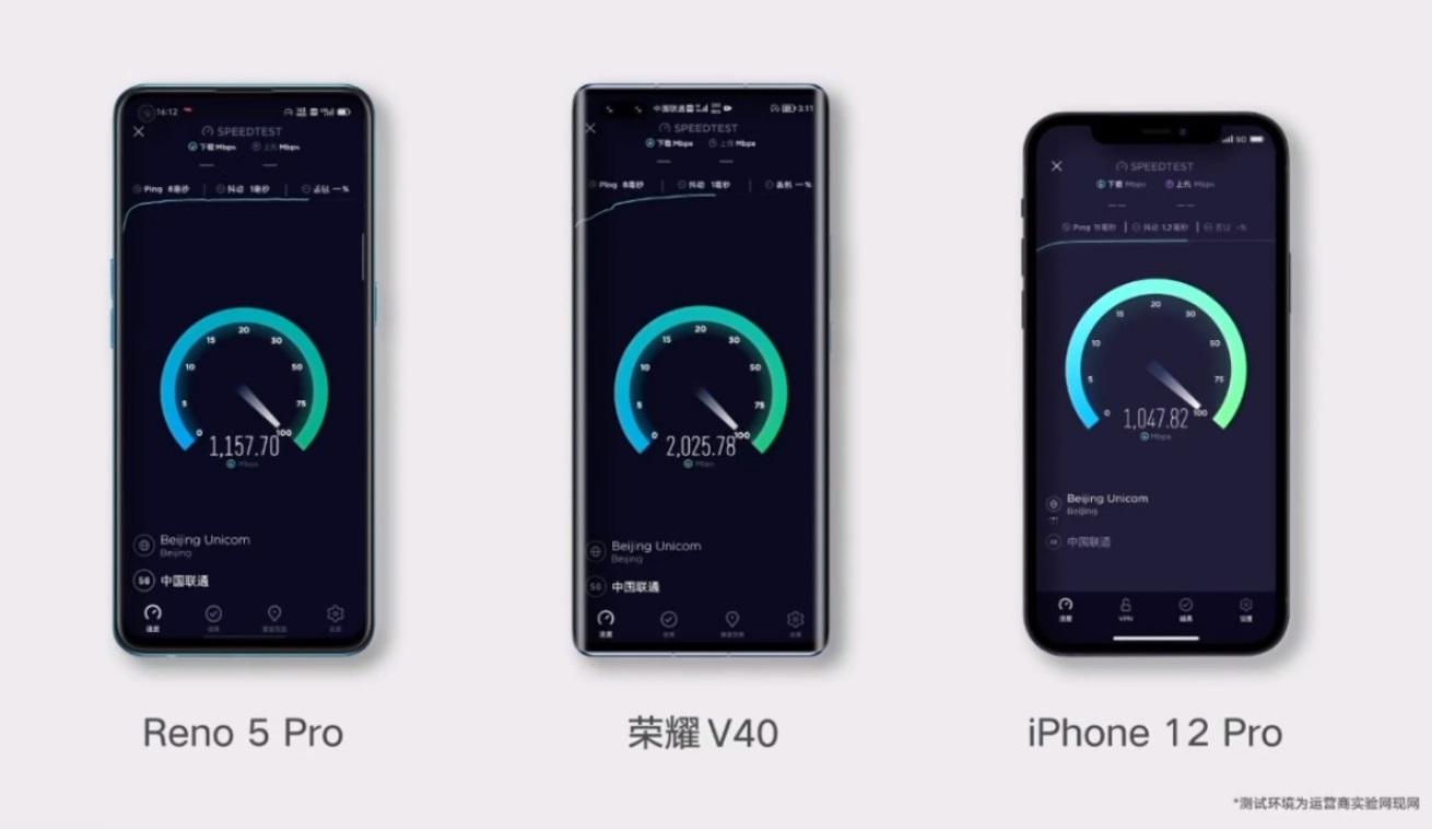 荣耀V40搭载Link Turbo四网融合技术,下载速度最高可达2.3Gbps