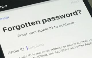 Apple为您提供了多种恢复丢失的Apple ID密码的方法