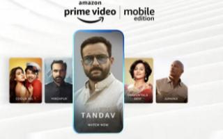 亚马逊推出了自己的仅限移动设备的Prime Video订阅计划