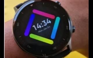 Realme为新款Watch S采用了圆形设计