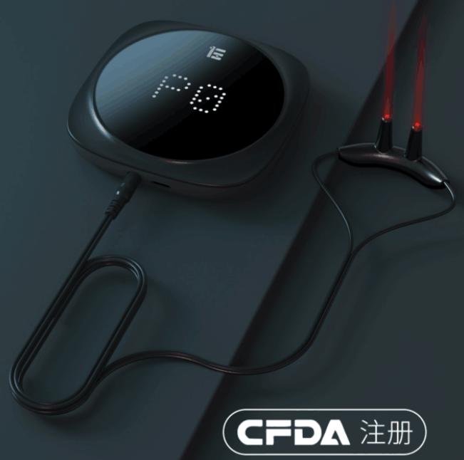 小米上线便携式鼻炎激光治疗仪