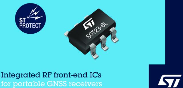 意法半导体发布GNSS接收器射频前端芯片BPF8089-01SC60