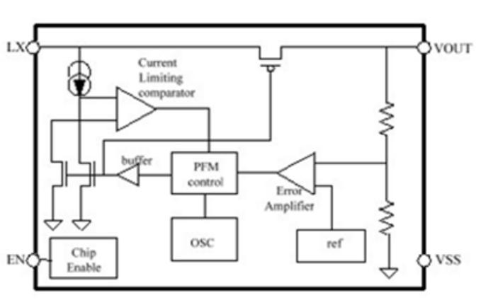 HM6382同步升压转换器芯片的数据手册免费下载