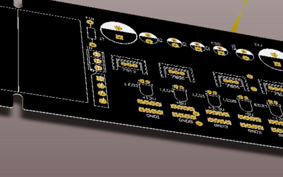 多路可调线性直流稳压电源模块 7种电源输出