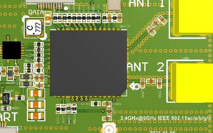 AP6398S蓝牙WIFI(2.4G和5G):一...