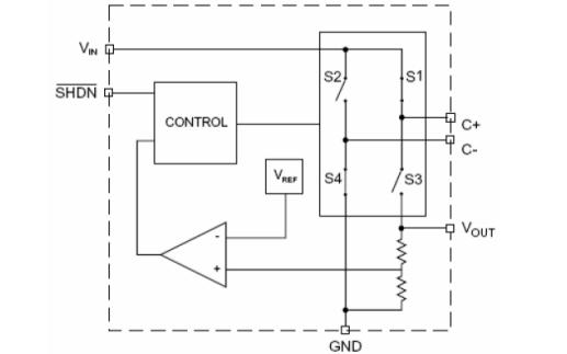 HM3200可调节电荷泵电路的数据手册免费下载