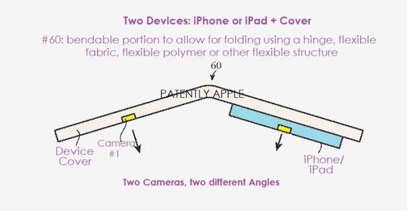苹果公开可折叠iPhone新专利