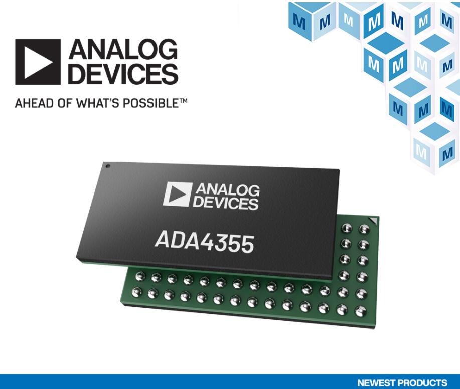 貿澤開售Analog Devices ADA43...
