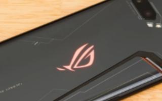 华硕将在ROG系列中开发下一代游戏智能手机?
