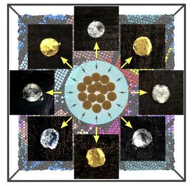 科学家通过纳米颗粒造出超硬金属