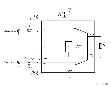 音频放大器LM4941/85的特色、优点及应用范围