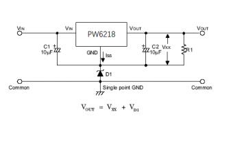 PW6218高压LDO稳压器的数据手册免费下载