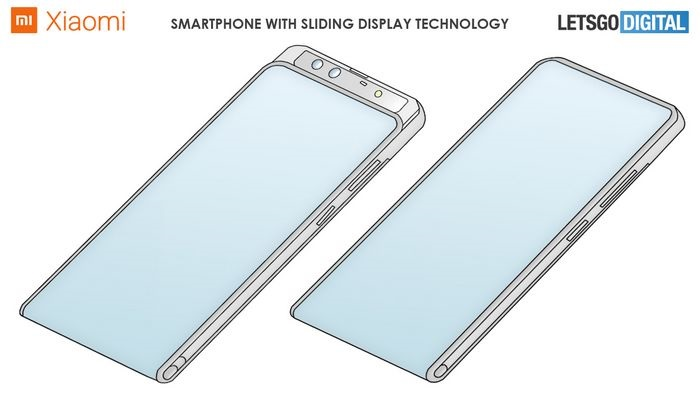 小米环绕屏新专利:滑盖隐藏前置摄像头