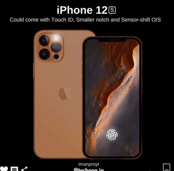 iPhone 12S细节曝光,经典的刘海屏得到保留