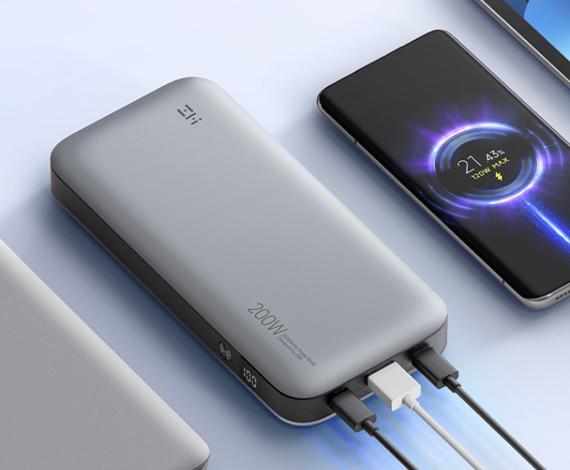 全球首款120W快充充电宝正式登陆海外