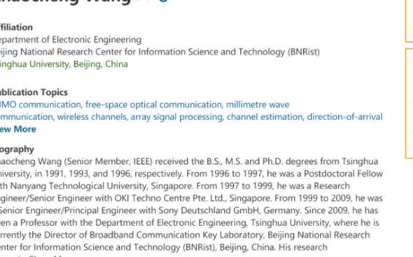 2021 IEEE Fellow学术大盘点 优秀学者推荐