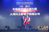 """川土微电子获2021中国IC风云榜的""""年度最具成长潜力奖"""""""
